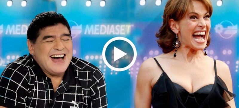 Maradona querela Barbara D'